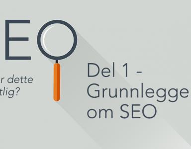 Banner om SEO-serie